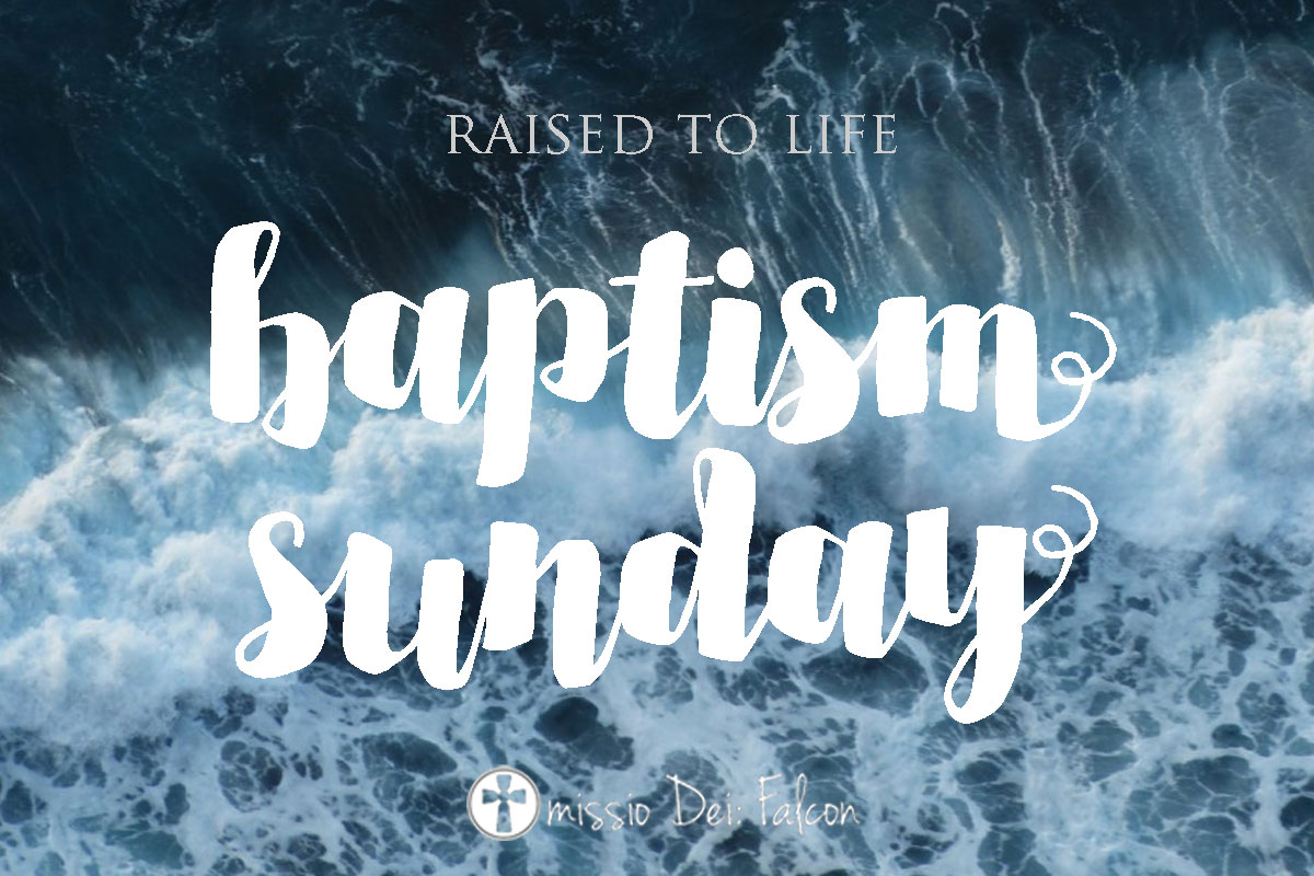 October 2018 Baptisms